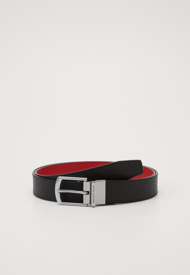 DRESS BELT - Riem - black/red