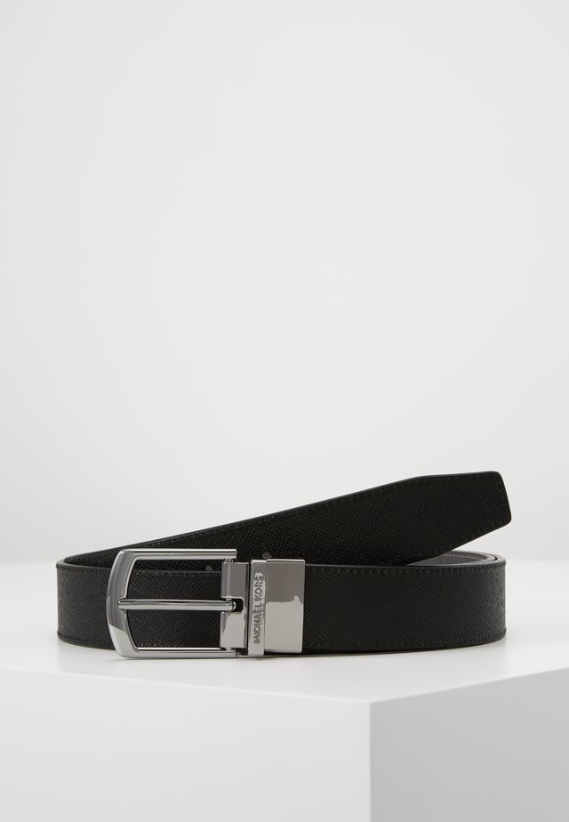 BUCKLE BELT - Riem - black/grey