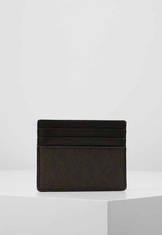 TALL CARD CASE - Visitkortsfodral - brown