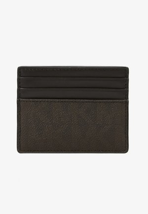 TALL CARD CASE - Business card holder - brown