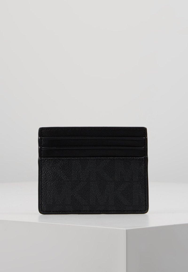 Michael Kors - TALL CARD CASE - Business card holder - black