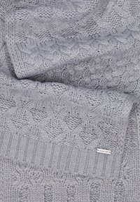 Michael Kors - STRIPED CABLE MUFFLER - Sjaal - heather grey - 3
