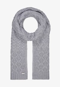 Michael Kors - STRIPED CABLE MUFFLER - Sjaal - heather grey - 2