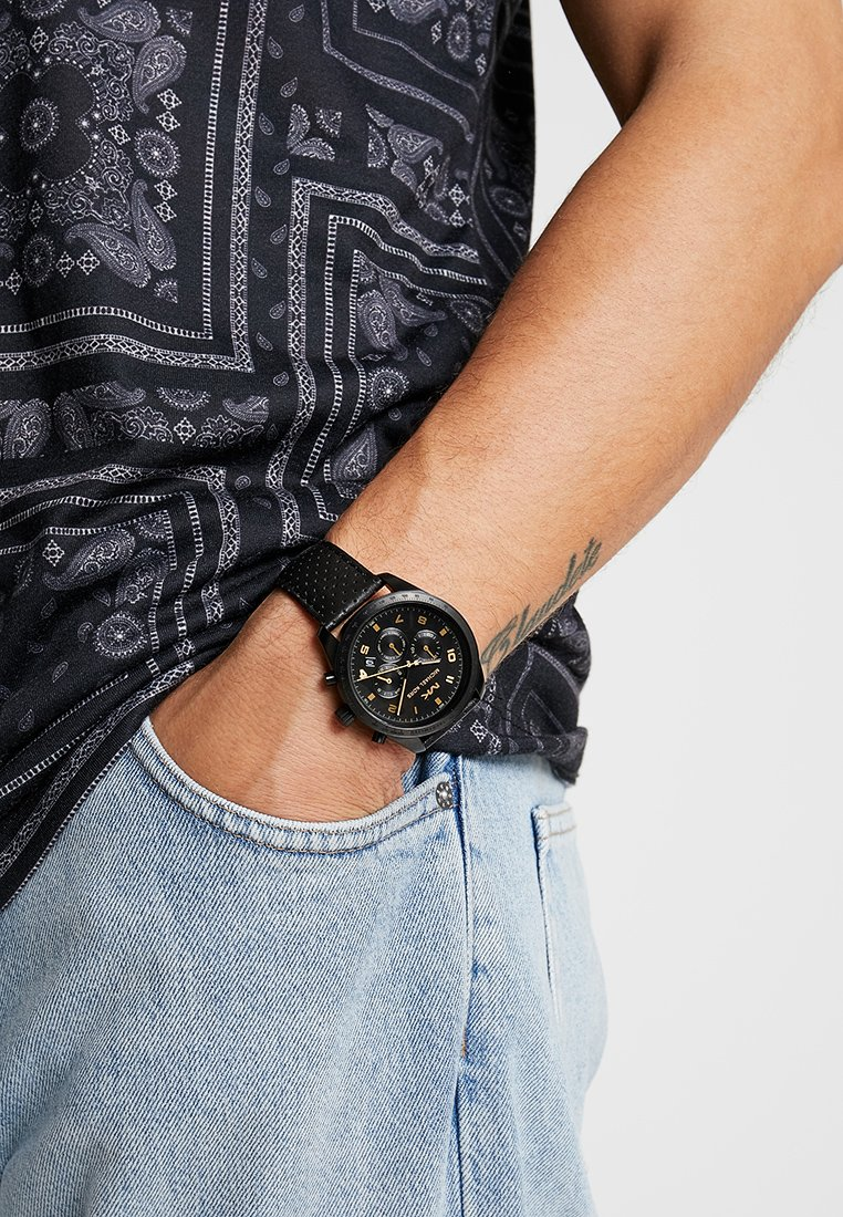 Michael Kors - KEATON - Chronograph watch - black