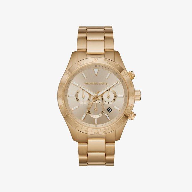 LAYTON - Chronograph watch - gold coloured