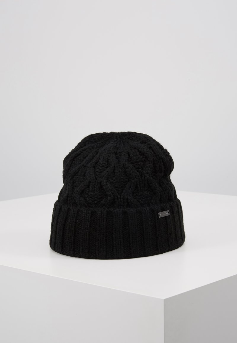Michael Kors - CABLE CUFF HAT - Beanie - black