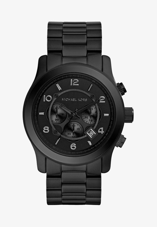 RUNWAY - Chronograph watch - schwarz