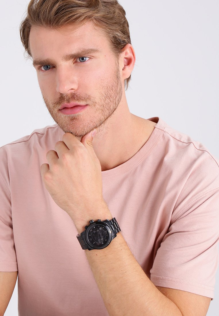 Michael Kors - RUNWAY - Chronograph watch - schwarz