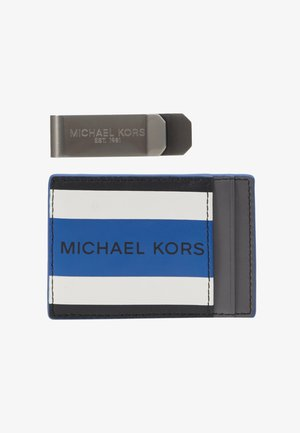 CARD CASE & MONEY CLIP BOX SET - Portafoglio - black/twilight blue