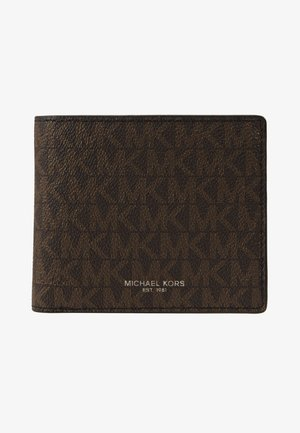 GREYSON BILLFOLD COIN POCKET - Wallet - brown/black