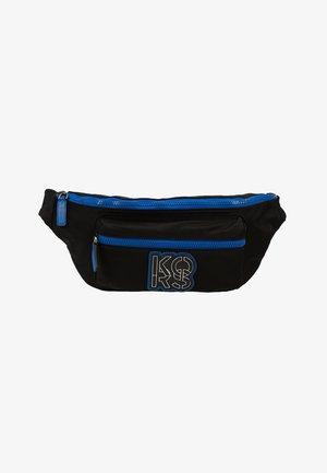 BROOKLYN HIP BAG - Ledvinka - black/atla blue