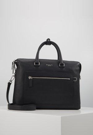 GREYSON POCKET BRIEFCASE - Stresskoffert - black