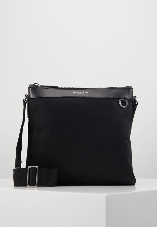 FLAT CROSSBODY - Across body bag - black