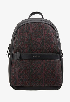 GREYSON BACKPACK - Zaino - black/crimson