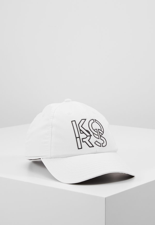 STACKED HAT - Keps - white