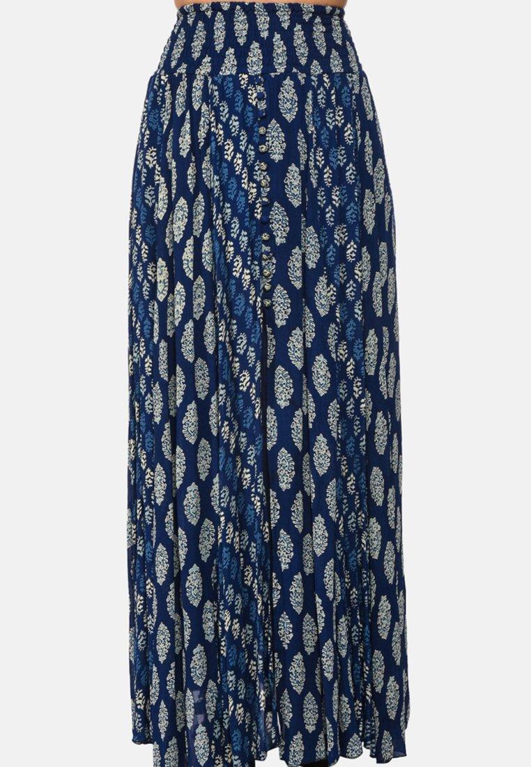Miss June - SUNSET - Maxi skirt - blue