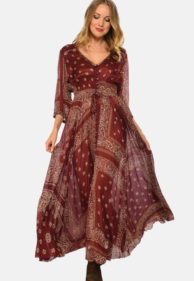Miss June - NOMA - Maxi dress - bordeaux