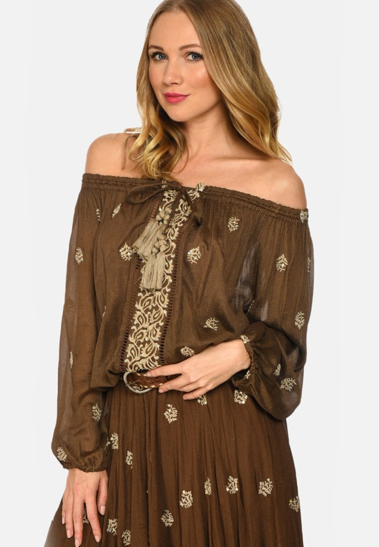 Miss June - GALLERY - Tunic - brown