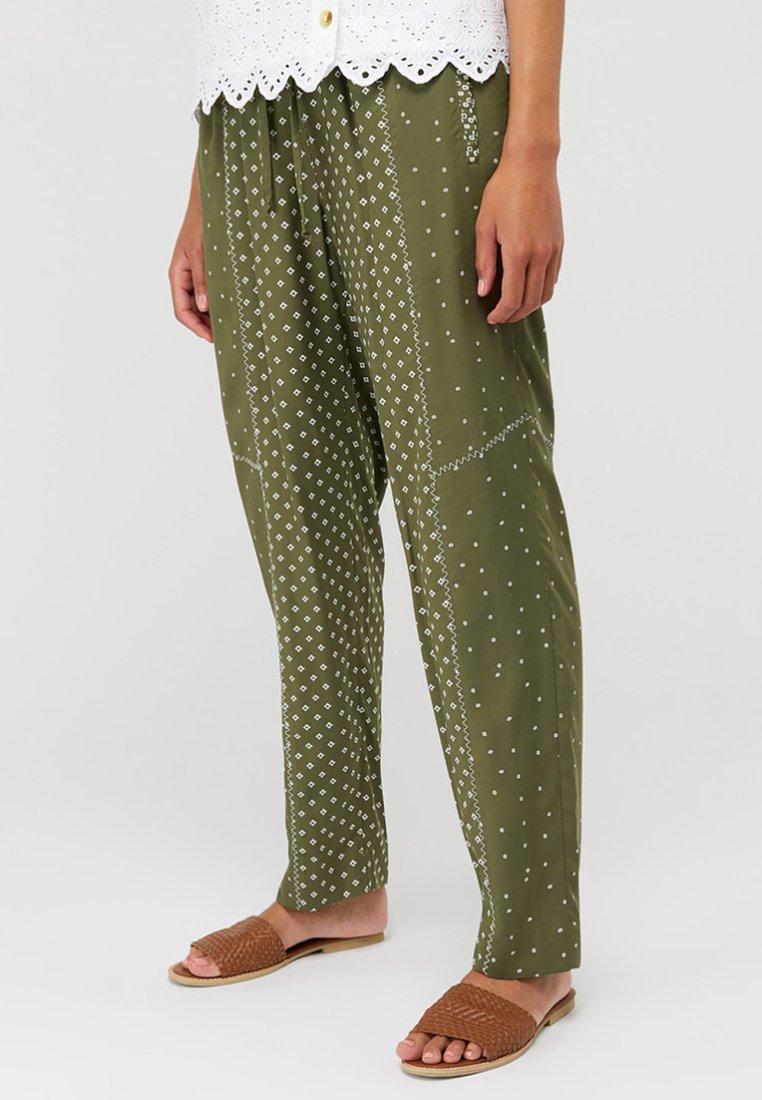 Monsoon - Trousers - green