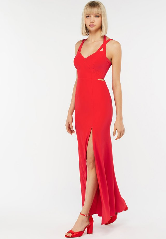 KAZIMIR CUT OUT - Cocktail dress / Party dress - red