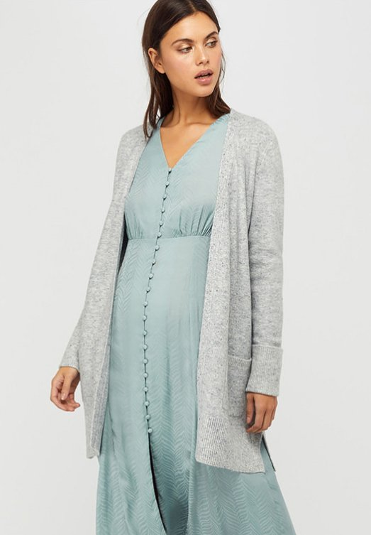 Monsoon - PERRIE  - Strickjacke - grey