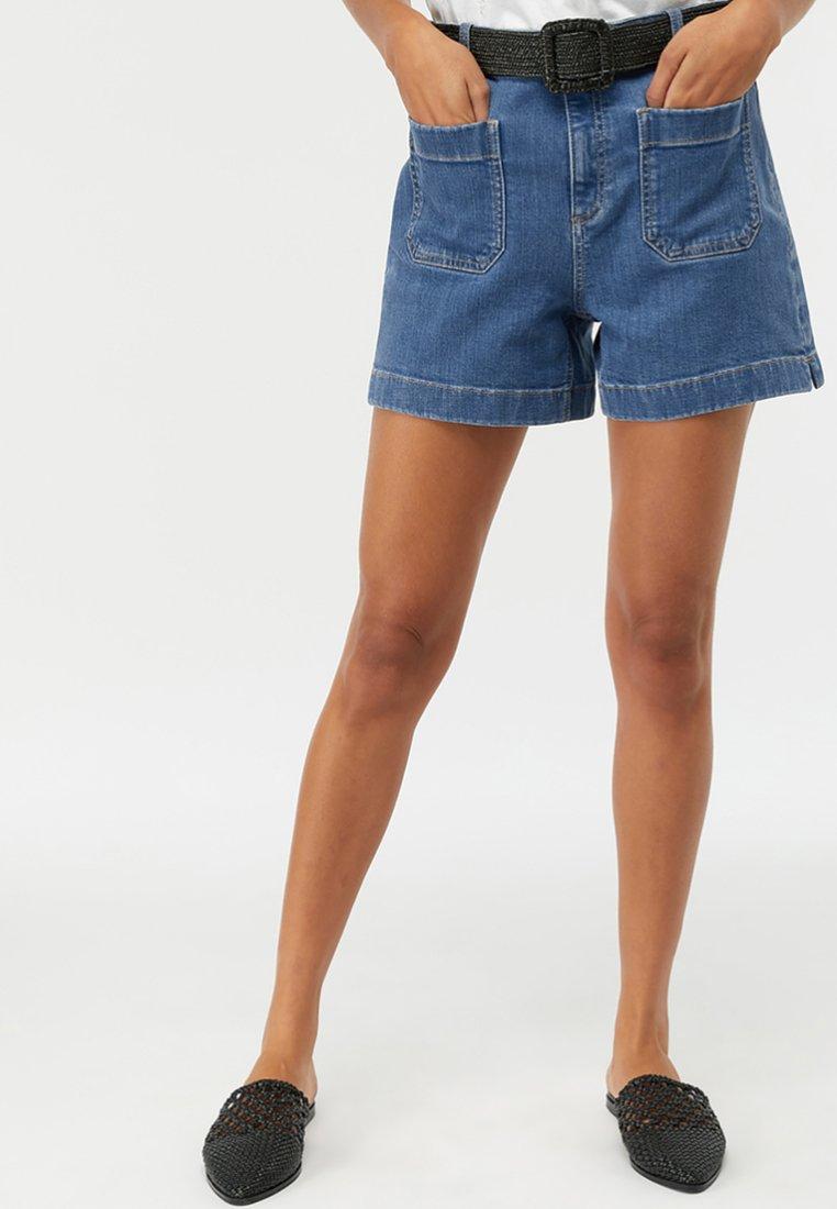 Monsoon - Jeans Shorts - blue