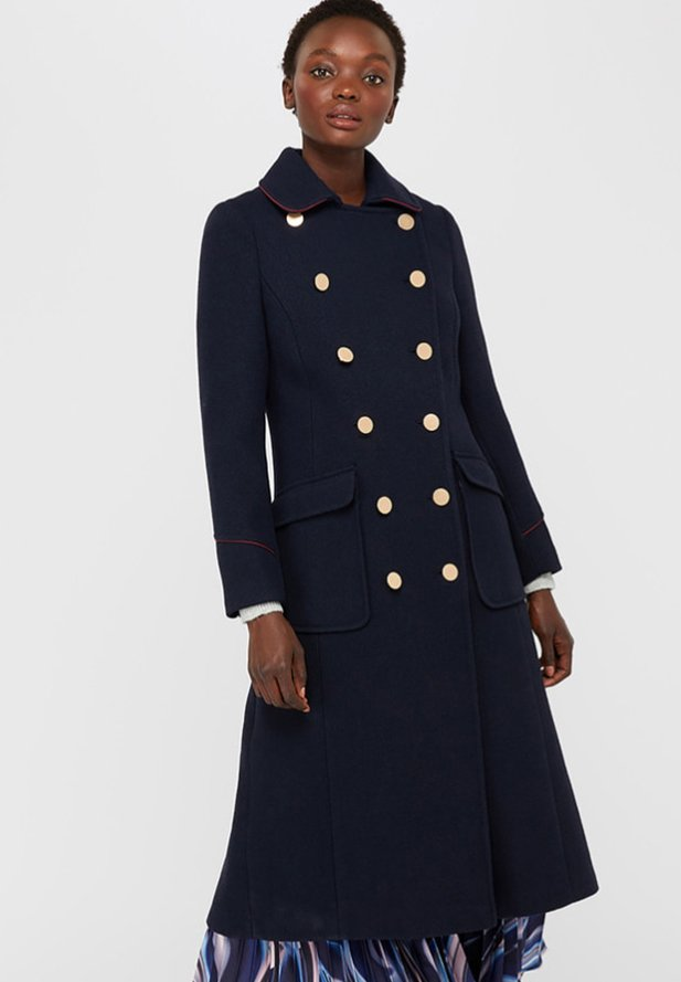 Monsoon - ANNA  - Classic coat - dark blue