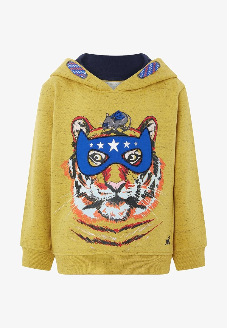 Monsoon - THEO TIGER - Hoodie - yellow