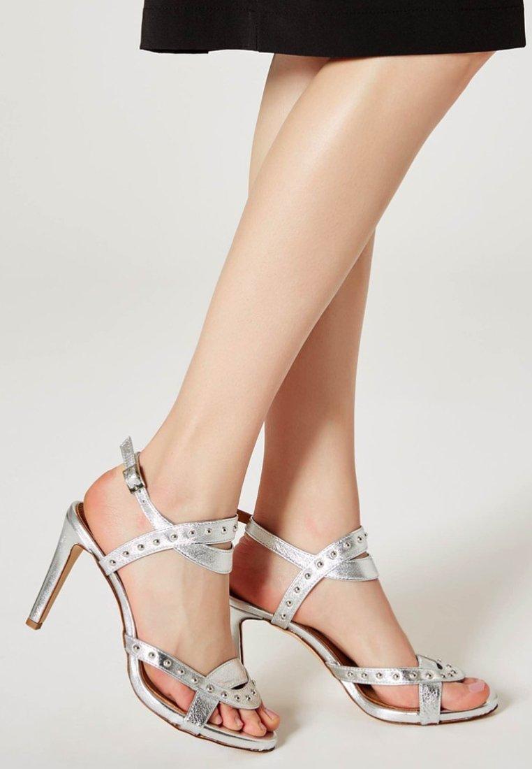 myMo - Højhælede sandaletter / Højhælede sandaler - silver