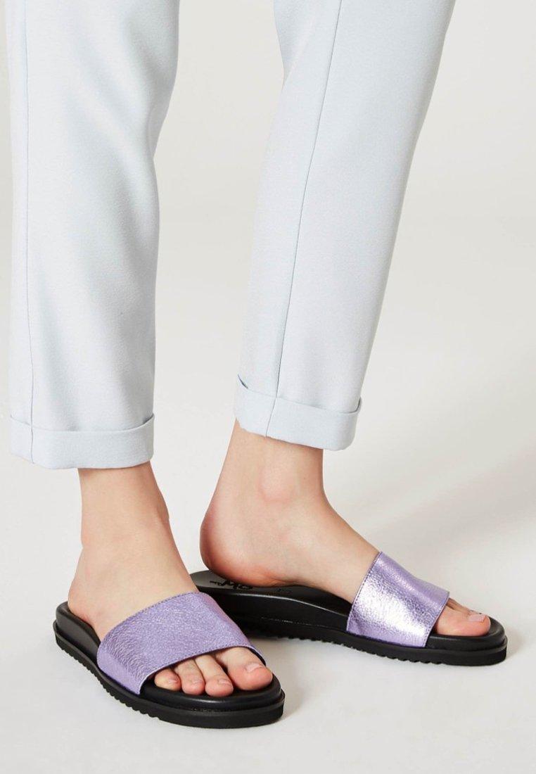 myMo - Sandaler - metallic lila