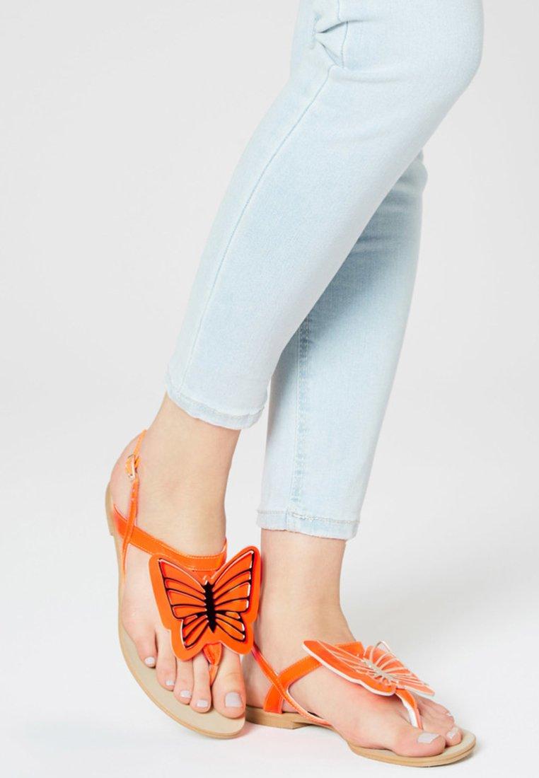 myMo - Varvassandaalit - orange