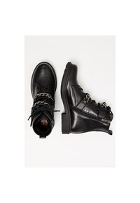 myMo - Lace-up ankle boots - black - 2