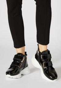 myMo - Sneakersy wysokie - black - 0