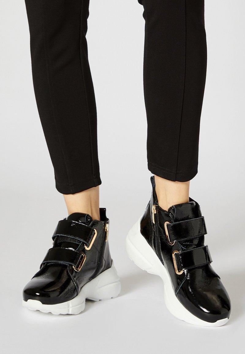 myMo - Sneakersy wysokie - black