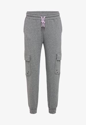 Pantaloni sportivi - gray melange