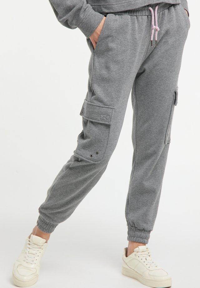 Spodnie treningowe - gray melange