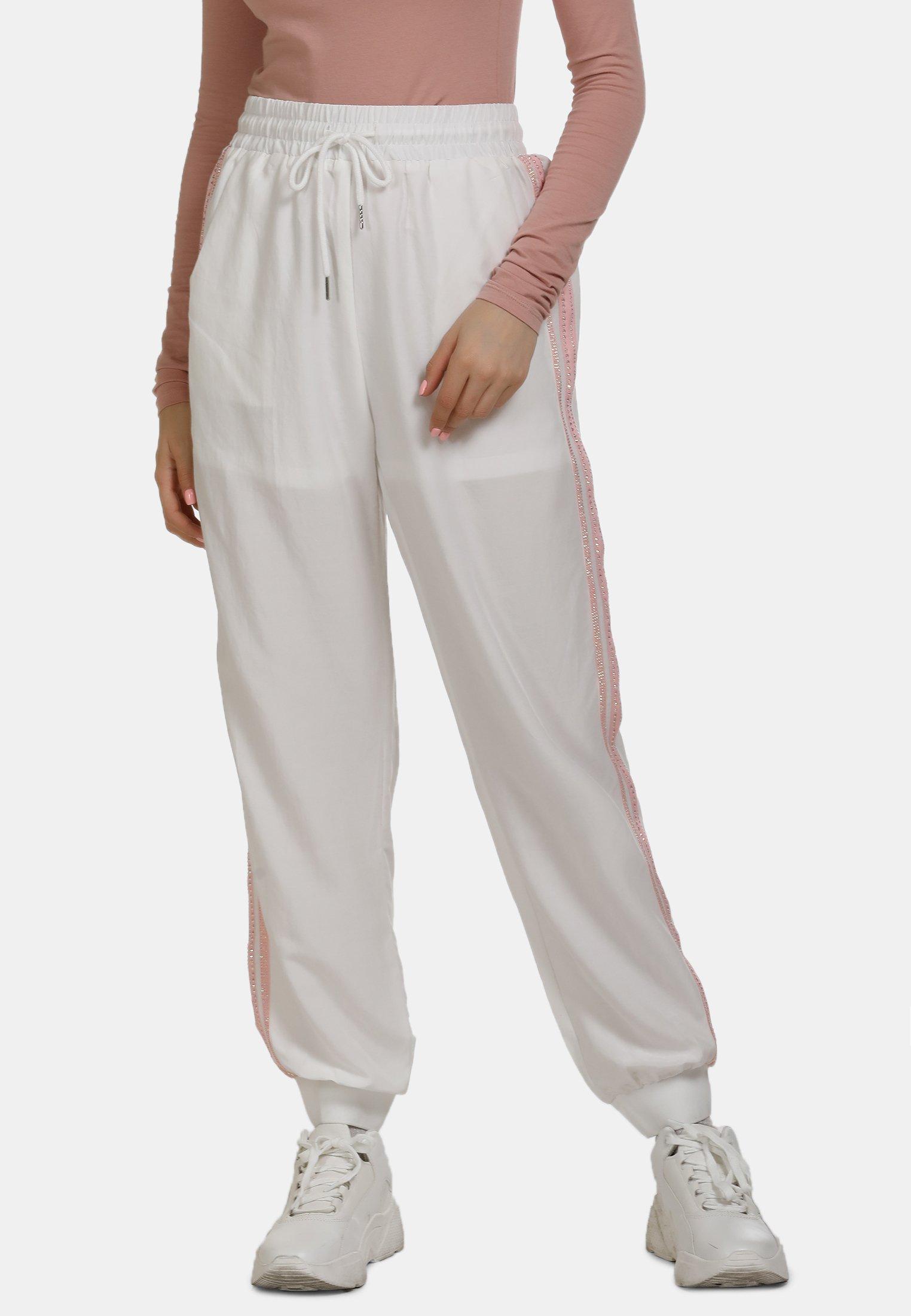 myMo Spodnie treningowe - white
