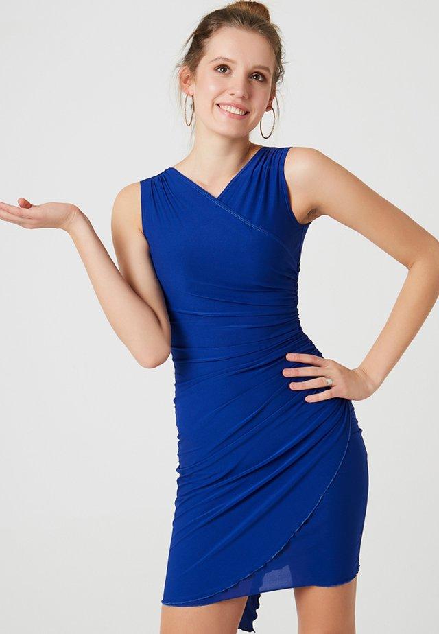 Etui-jurk - cobalt blue