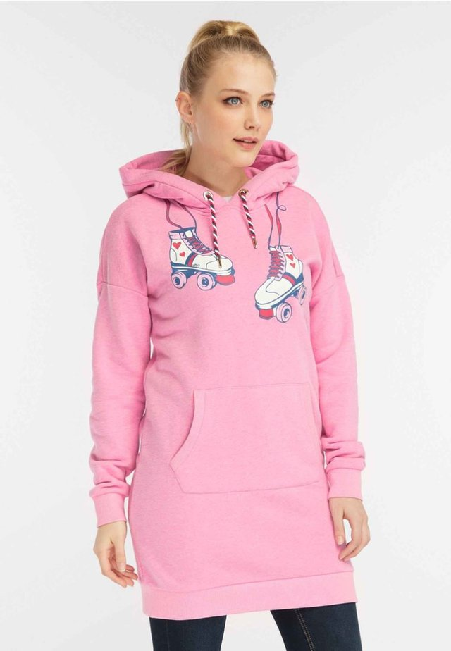 MIT ROLLERSKATER-PRINT - Sukienka letnia - pink