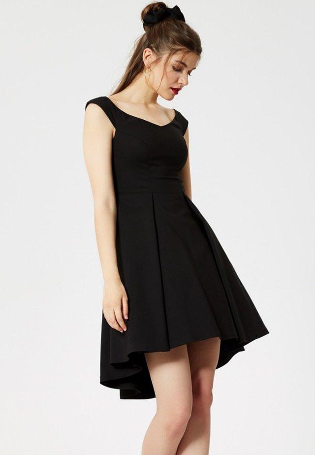KLEID - Korte jurk - black