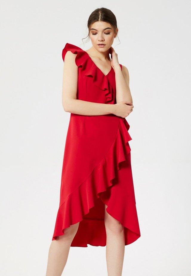 Cocktailklänning - red