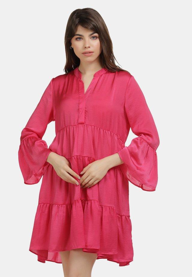 TUNIKAKLEID - Korte jurk - pink