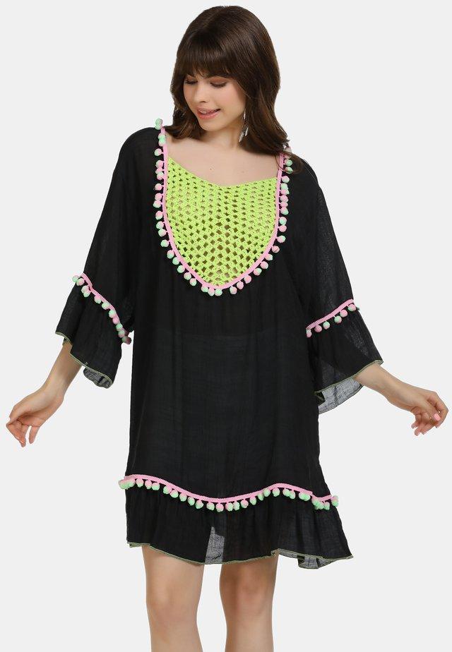 TUNIKAKLEID - Korte jurk - schwarz