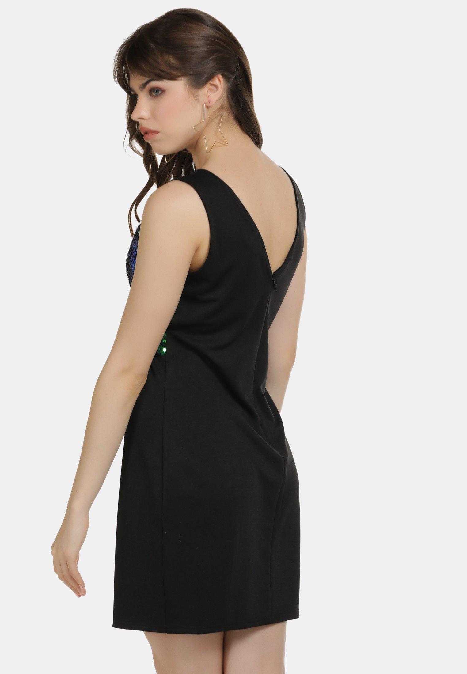 myMo KLEID - Sukienka koktajlowa - dunkelgrün