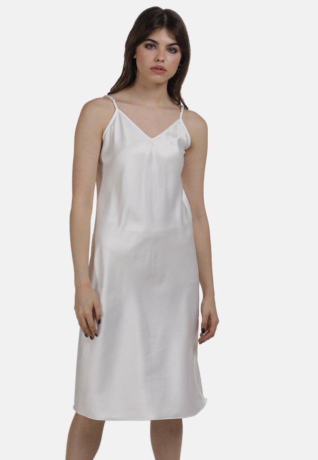 KLEID - Korte jurk - weiss