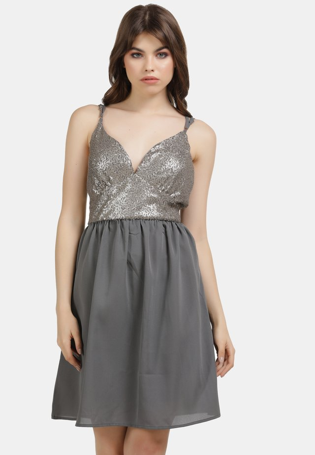 ABENDKLEID - Cocktail dress / Party dress - grau