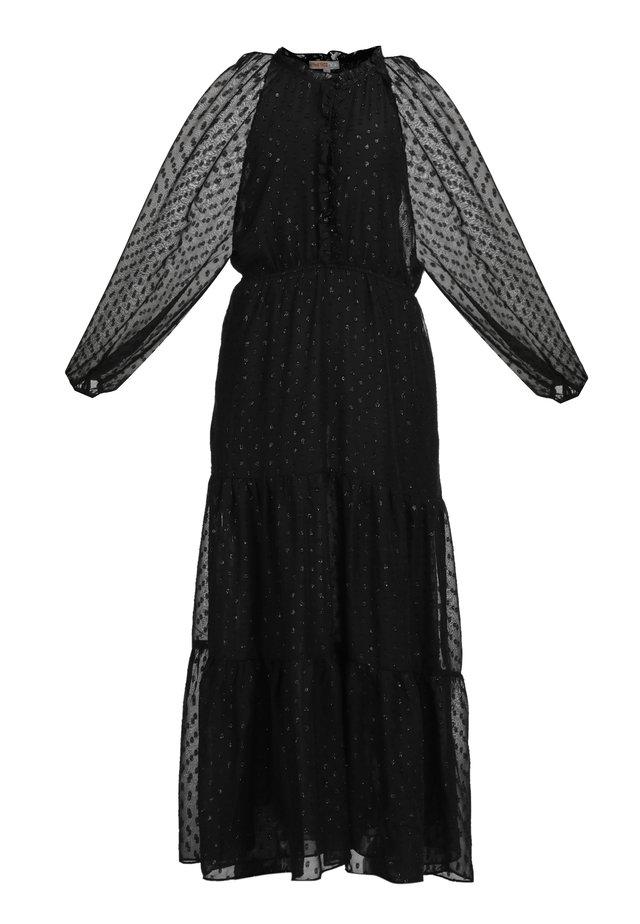 Długa sukienka - schwarz