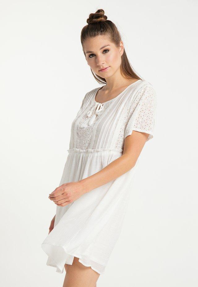 Vestido informal - weiss