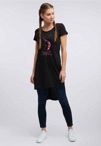 myMo - T-shirt imprimé - black - 0