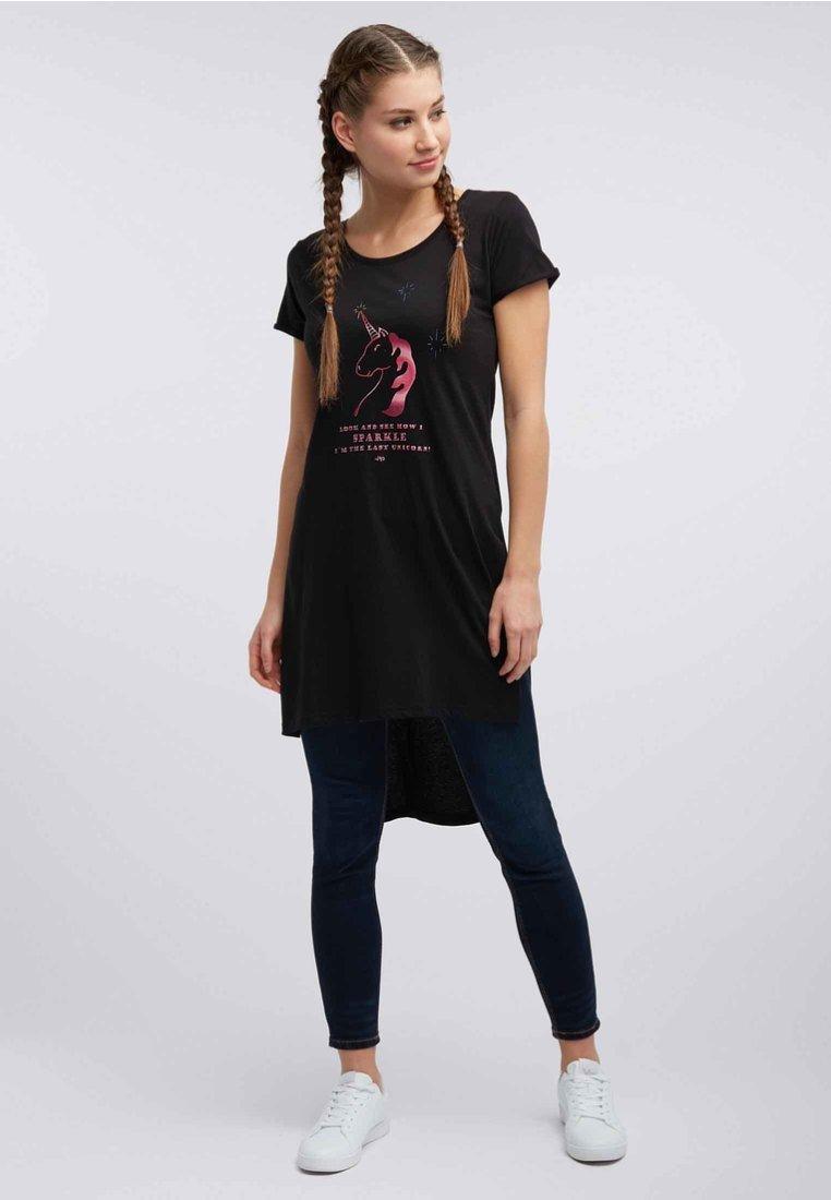 myMo - T-shirt imprimé - black